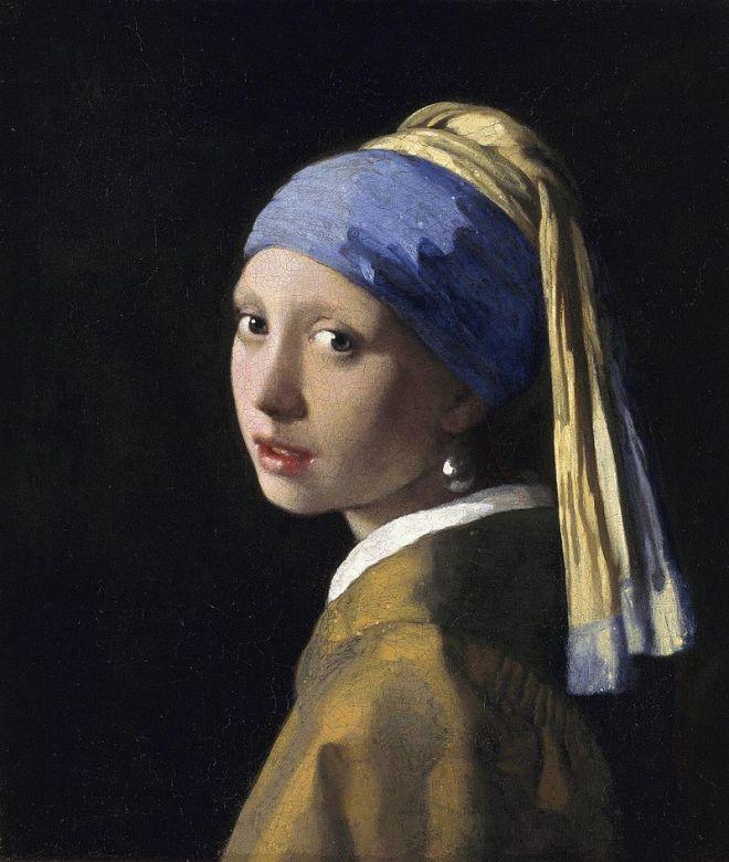 Bức Cô gái đeo hoa tai ngọc trai của Vermeer
